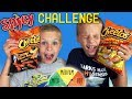 <b>Twins</b> SPICY HOT Cheetos Challenge!