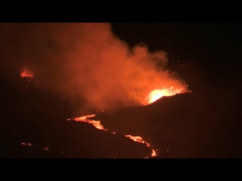 Vulkanausbruch: Der Piton de la Fournaise