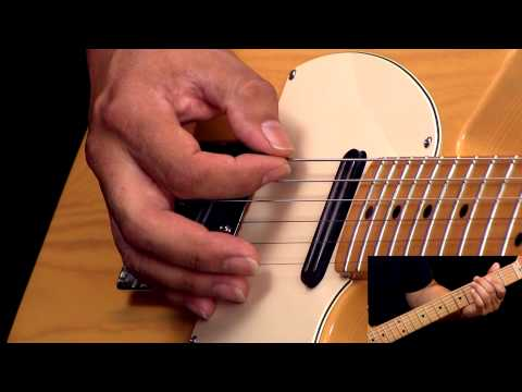 Rockabilly Guitar Lesson In The Style of Cliff Gallup