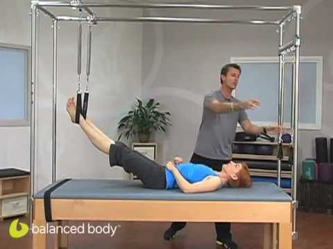 Pilates Instructors : Advanced Work on the Cadillac (Trap Table)