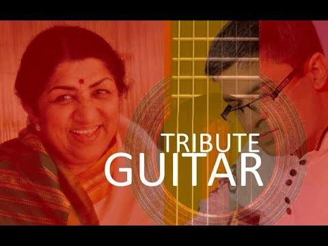 Best of Lata Mangeshkar songs on Guitar Instrumentals by Kapil Srivastava