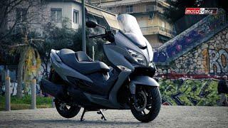 8. Suzuki Burgman 400 Test ride