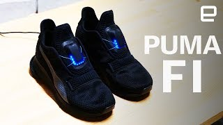 Puma FI Self-Lacing Sneakers Hands-On