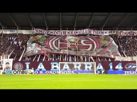 Video - Daria la vida por verte campeon - LA BARRA 14 - CLUB ATLÉTICO LANÚS - La Barra 14 - Lanús - Argentina