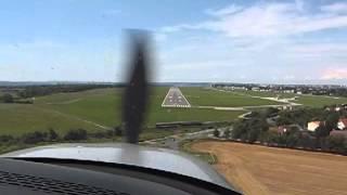Cirrus SR22T OK-VIK Landing In LKKB