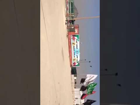 #فيديو : الروافض في #الكويت ناصبين خيام على حدود العراق بنتظار الحشد الشعبي الرافضي