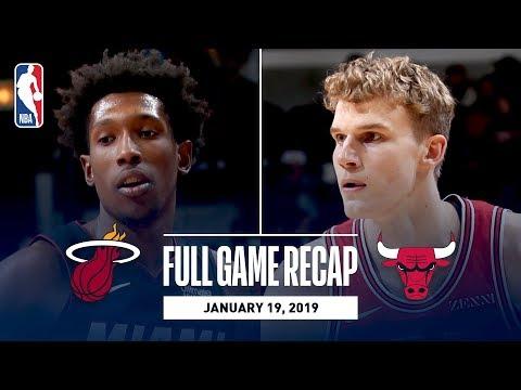 Video: Full Game Recap: Heat vs Bulls | Richardson Leads MIA Over CHI