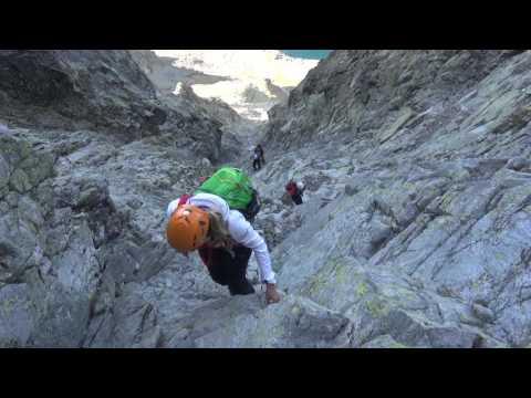 VIDEO: Vysoká 2547 m a Ťažký štít 2520 m