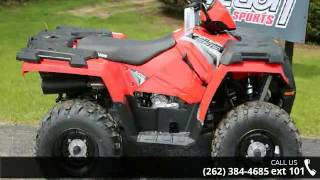 6. 2017 Polaris Sportsman 570 Indy Red  - Action Power Sport...