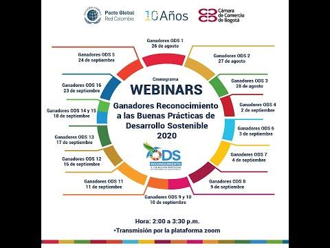 Webinar: Ganadores ODS 16 - Reconocimiento a las Buenas Prácticas de Desarrollo Sostenible 2020