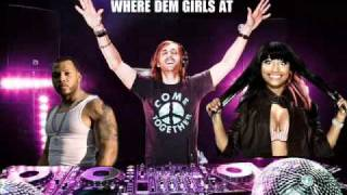 David Guetta videoclip Where Them Girls At (feat. Flo Rida & Nicki Minaj) (Extended)