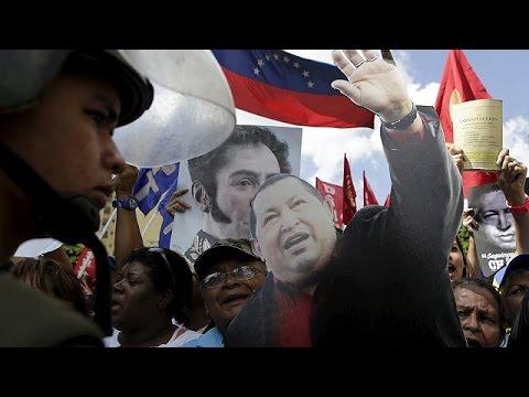 Βενεζουέλα: Διαδηλώσεις για την «αποκαθήλωση» Τσάβεζ