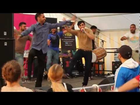 Pumbeeri by Foji at Cambridge Mela 2012 (видео)