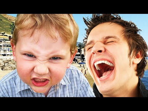 freak out - In this video we have GoonOfFire with a hilarious video where he just goes around annoying litlte kids :D A like would be amazing guys! Creator here: ---------------------------------------------...