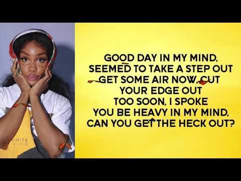 """SZA - """"Good Days"""" (Lyric Video)"""