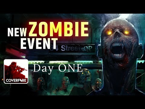 Cover Fire: shooting games  - NEW EVENTS - Zombies Underground: Day One  (iOS, Android)