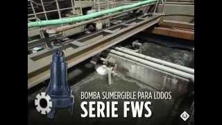 Aplicaciones de la Bomba Sumergible para Lodos Serie FWS
