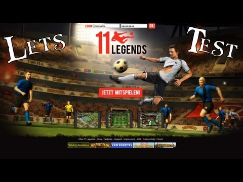 11Legends: Let's Test 11Legends - Browsergame von Upj ...