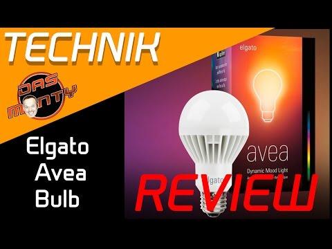 Elgato Avea Bulb Stimmungs-LED-Glühbirne Test - Review - für Apple iPhone und Android - Deutsch