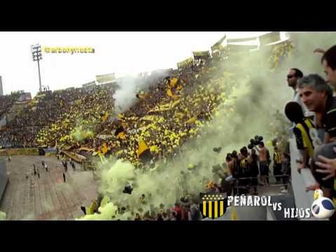Peñarol vs Hijos 20-May-2012 (parte 1) - Barra Amsterdam - Peñarol - Uruguay - América del Sur