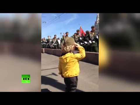 Маленький генерал: на параде Победы в Москве