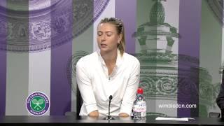 Tennis Highlights, Video - [HD]Maria Sharapova Fourth Round Press Conference