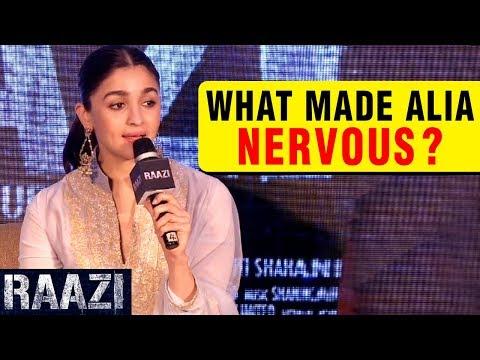 Alia Bhatt Got Nervous On Doing Her First Period F