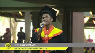 Video TITIP RINDU BUAT AYAH - DAVID GANDA (WISUDA UI) MP3, 3GP, MP4, WEBM, AVI, FLV April 2019