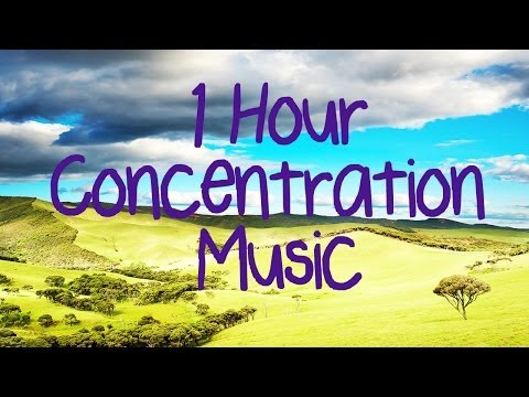 1 HOUR Relaxing Concentration Music! Improve Results, Improve Focus, Brain Training