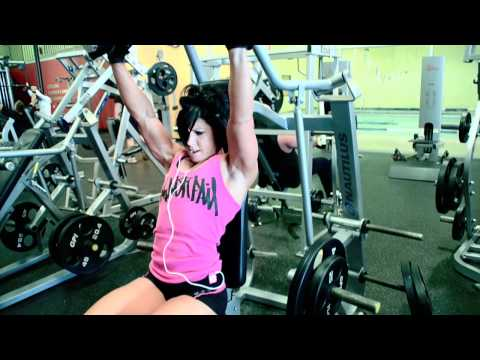 delts - MURDERING DELTS!! lol. My husband Rob does all my video editing and today we decided to throw him in the video. :) This was a pretty typical delt workout. BU...