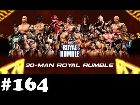 Let's play WWE 13 Universe Mode #164 Royal Rumble #1 | TheXardas94
