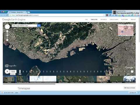 GoogleEarth Engine Timelapse: Quick Lesson Plan