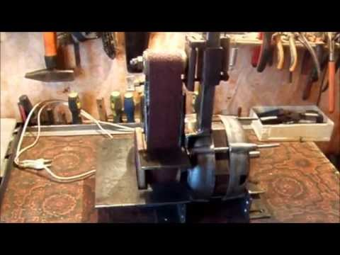 Гриндер с двигателем от стиральной машины своими руками 70