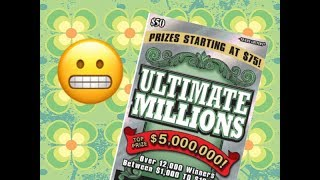 Scratching a $50 Ultimate Millions Texas Lottery Scratch Off Ticket. Will I find a big win? Stay tuned. Join me on Facebook: https://www.facebook.com/TexanCandy/    Fan Mail:Candy PO Box 241763San Antonio, TX 78224