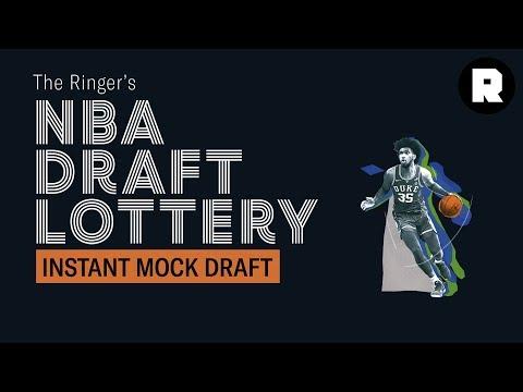 Instant Mock Draft | NBA Draft Lottery | The Ringer