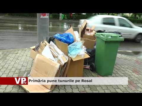 Primăria pune tunurile pe Rosal