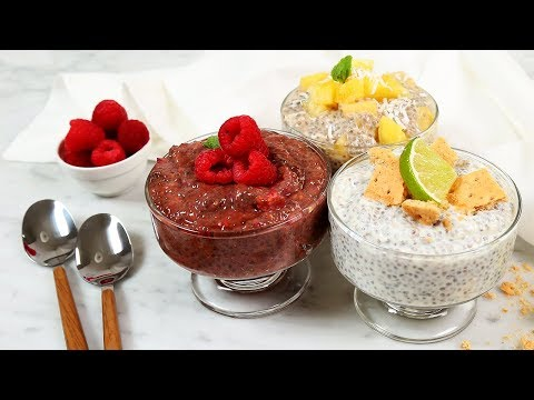 3 Healthy Chia Pudding Recipes | Better Breakfasts