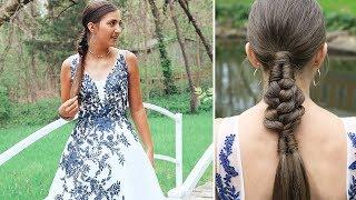 Infinity Braid Combo | Kamri's PROM Hair 2019 by Cute Girls Hairstyles
