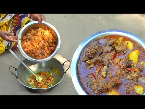 Mutton Curry Recipe || Tasteful Mutton Curry In Village Style Cooking || Village Best Tasty Treats