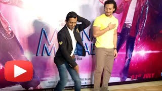 Nawazuddin Siddiqui and Tiger Shroff Dance Face Off LIVE On Swag Song From Munna Michael