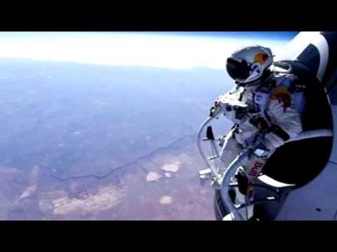 Felix Baumgartner completes record setting space jump