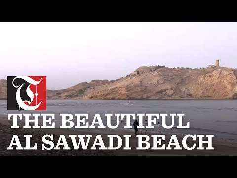 Al Sawadi Beach is approximately one-and-a-half hours by car from Muscat