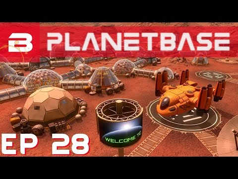 PlanetBase - Armed Intruders!!! - Ep 28 (Space Survival Strategy Gameplay)