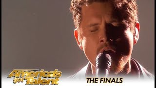 Michael Ketterer Brings Simon Cowell To TEARS During AGT Finals!   America's Got Talent 2018