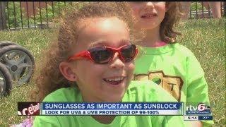 Sunglasses as Important as Sunblock