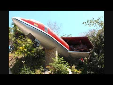 Boeing 727 converted to a luxury home