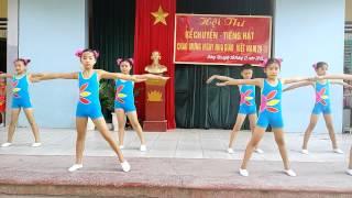 Bài nhảy erobic của trường Tiểu học Đông Tân