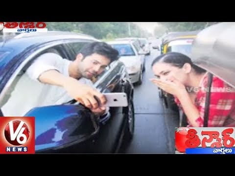 Varun Dhawan Gets Traffic Challan For Roadside Selfie With Fan | Teenmaar News