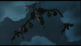 Patlabor 2: The Movie - Gunship Attack [HD]