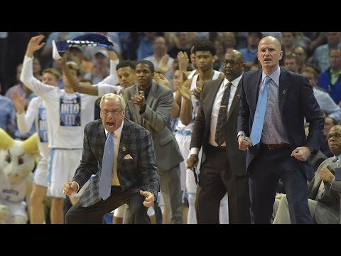 UNC's Roy Williams, Luke Maye explain game-winning sequence vs. Kentucky (видео)